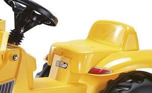 Трактор педальный с ковшом Kid Dumper Caterpillar Rolly Toys 24179, фото 2