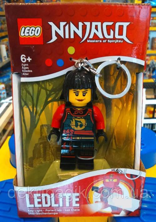Брелок-фонарик Лего Ниндзяго Ния светодиодный LGL-KE78