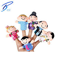 Пальчиковый театр куклы Семья 6 шт