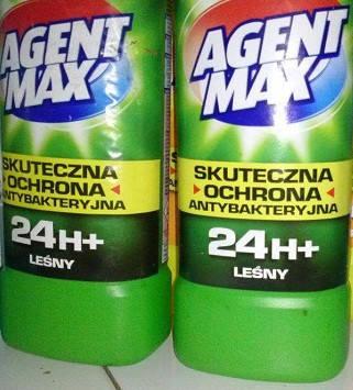Средство для чистки унитаза Agent Max лесной  антибактериальное , фото 2