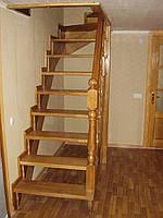 Деревянная Лестница из сосны Киев, фото 1