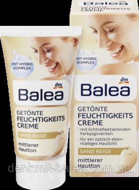 Увлажняющий крем для лица с тонирующим эффектом Бежевый Песок  Balea Getonte Feuchtigkeitscreme Sand Beige