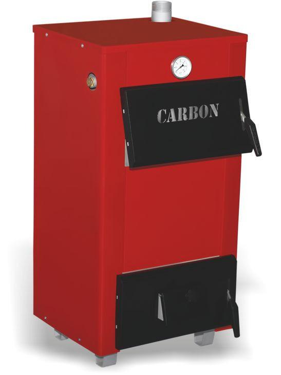 Стальной твердотопливный котел Carbon КСТО мощностью 18 кВт (Карбон)