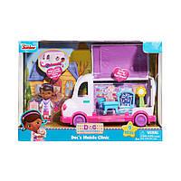 Игровой набор Доктор Плюшева с машиной скорой помощи и аксессуарами, Doc McStuffins Mobile Clinic Toy