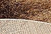 """Ворсистый ковер shaggy Маджести """"Волна"""",  коричнево-бежевый, фото 3"""