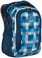 Городской рюкзак Deuter Giga blue/arrowcheck (80414 3016)