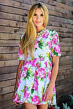 Цветочное платье | Kenzo flowers sk, фото 3