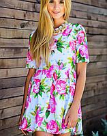 Цветочное платье | Kenzo flowers sk