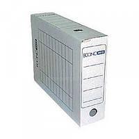 Папка-бокс ECONOMIX Е32701 архивный белый 80мм