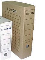 Папка-бокс ECONOMIX Е32701 архивный коричневая