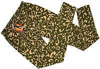 Лосины с узором пятнистые M-L,XL-XXL