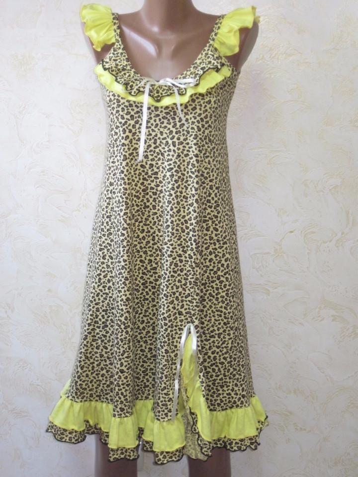 Женская ночная рубашка Алина Размер 40 - 46
