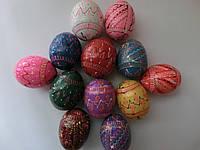 Яйца деревянные пысанка к Пасхе