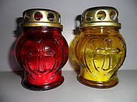 Лампадки свечи стекло мал ( 8 часов ) № 2