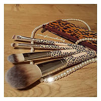 Набор кистей для макияжа леопард Farmasi
