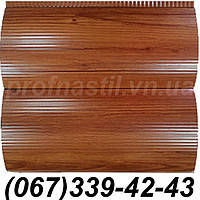 Сайдинг блок-хаус металлический Сосна (шир. 0,35 м) (длина под заказ)