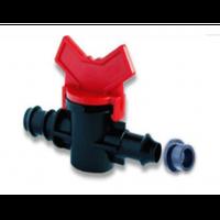 Кран стартовый для капельной трубки с уплотнительной резинкой (SL 011-3)