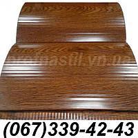 Сайдинг блок-хаус металлический Светлый дуб (шир. 0,35 м) (длина под заказ)
