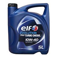 ELF TURBO DIESEL 10w-40 5л полусинтетическое моторное масло Эльф Турбо Дизель 10w40 5л Киев