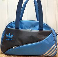 Сумка спортивная Adidas только ОПТ (серый)/Женская спортивная сумка, фото 1