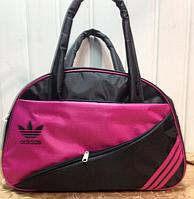 Сумка спортивная Adidas только ОПТ (черный)Женская  /спорт сумки/Женская спортивная сумка, фото 1