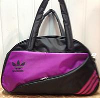 Сумка спортивная Adidas только ОПТ (черный)/Женская спортивная сумка, фото 1