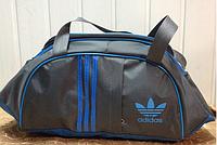 Женская сумка  спортивная Adidas только ОПТ (серый), фото 1