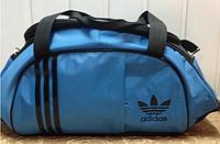 Сумка спортивная Adidas только ОПТ (голубой)/спорт сумки, фото 1