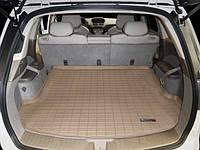 Коврик резиновый в багажник, 5 мест, бежевый. (WeatherTech) - MDX - Acura - 2007