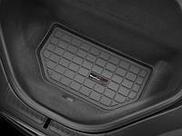 Коврик резиновый в багажник, черный. (WeatherTech) - Model S - Tesla - 2013