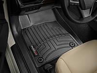 Коврики резиновые с бортиком, передние, черные. (WeatherTech) - Avalon - Toyota - 2013