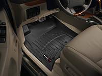 Коврики резиновые с бортиком, передние, черные. (WeatherTech) - Land Cruiser Prado - Toyota - 2003