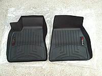 Коврики резиновые с бортиком, передние, черные. (WeatherTech) - Model S - Tesla - 2014