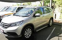 Подножки боковые, плоские, алюминий. (EGR) - CR-V - Honda - 2013