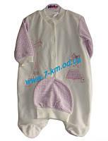 Спальник для младенцев Vit824 велюр 2 шт (3-6 мес)
