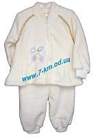Крестильный костюм девочкам Vit06203 травка 3 шт (3-9 мес)