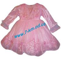 Платье для девочек Vit0705b фатин 3 шт (2-4 года)