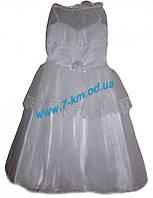 Платье для девочек Vit0710a атлас 4 шт (1-4 года)