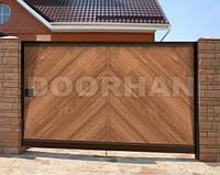 Сдвижные, откатные ворота Дорхан Premium-класса