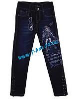Брюки для девочек PaHhc1603 джинс 6 шт (6-11 лет)