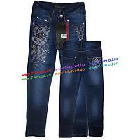 Брюки для девочек PaHcLm2506 джинс 6 шт (7-12 лет)