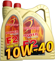 JB GERMAN OIL Power F2 LL-Synthese High-Tech, SAE 10W-40 4л