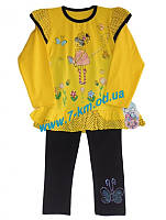 Костюм для девочек Vit06117 трикотаж 4 шт (3-6 лет)