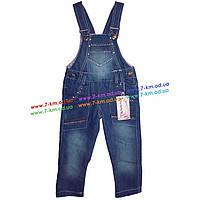 Комбинезон для девочек Vit415 джинс 4 шт (2-5 лет)