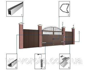 Распашные ворота Дорхан