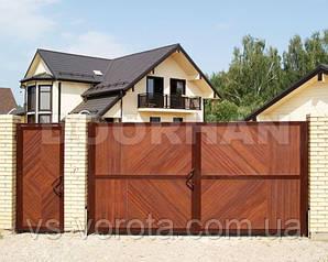 Распашные ворота Дорхан Premium-класса
