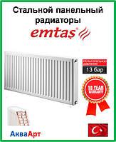 Стальной радиатор  Emtas 22k 300*600 б.п.