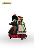 Обрядова лялька-мотанка «Нерозлучники». Дарується молодим парам на весілля,