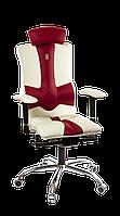 Кресло Kulik System Elegance White\Red  (ID: 1003)