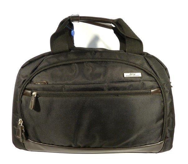 Сумка дорожная спортивная текстильная черная Refiand 89601